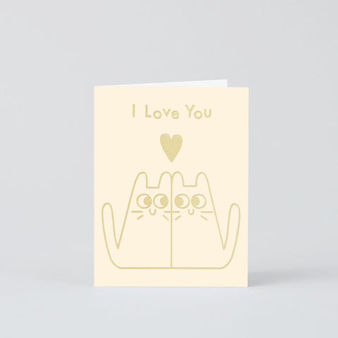 Love Cats Mini Card