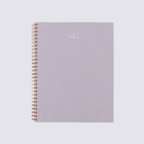 B6 Notebook - Lavender Grey