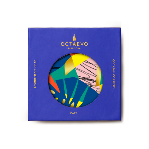 Paper Coaster Set - Capri