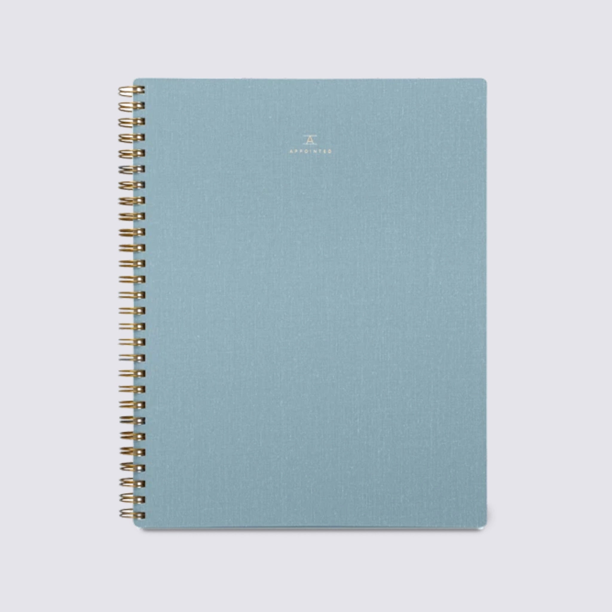 Workbook - Chambray Blue