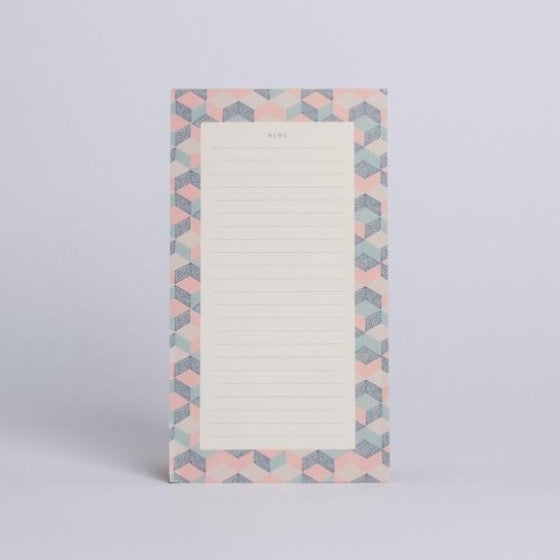 Tear-off Notepad - Patchwork