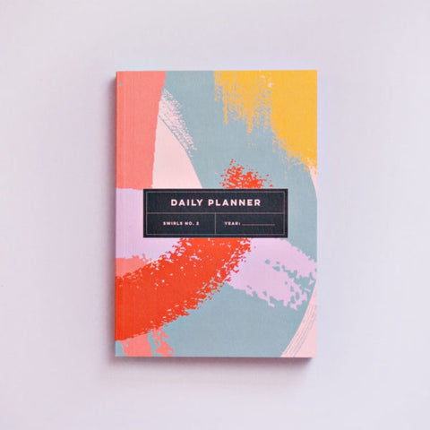 The Daily Planner Undated - Swirls