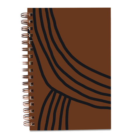 Painted Notebook - Terra