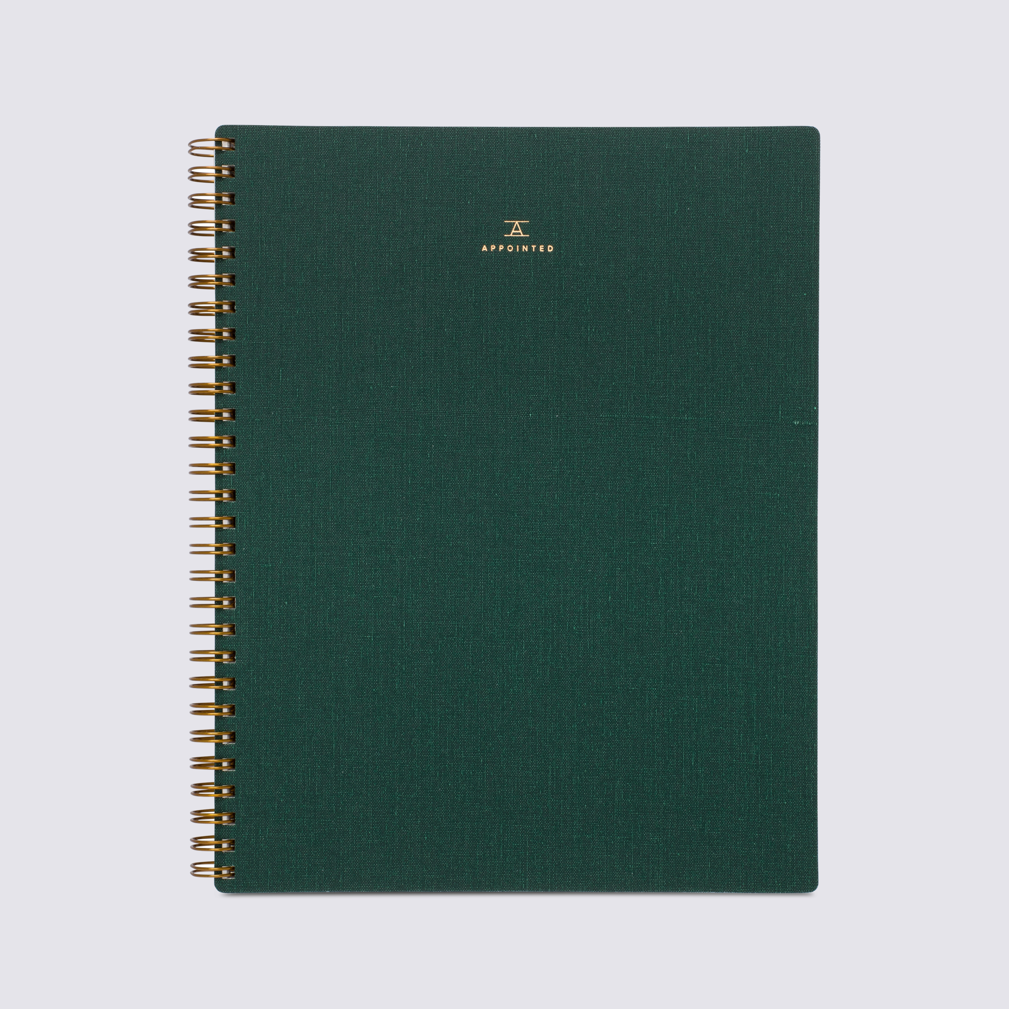 B6 Notebook - Hunter Green