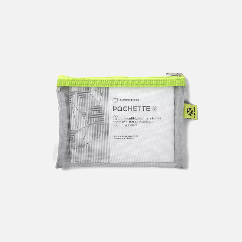 Mesh Pouch Small - Lime
