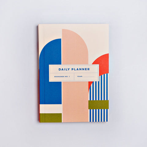 The Daily Planner Undated - Bookends