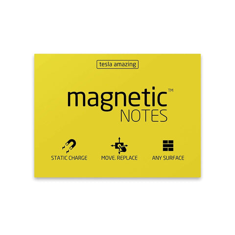 Magnetic Notes - Yellow