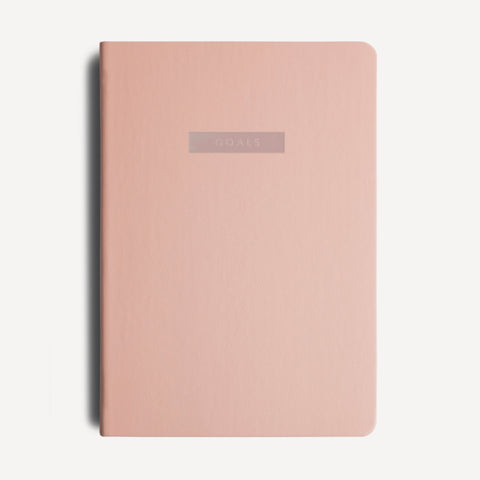 Goals Journal - Pink