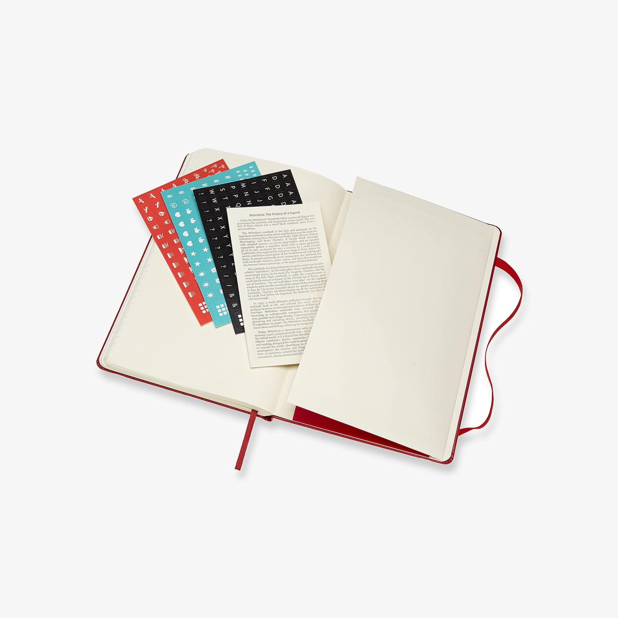 2021/22 Hard Cover Academic Diary - Scarlet Red