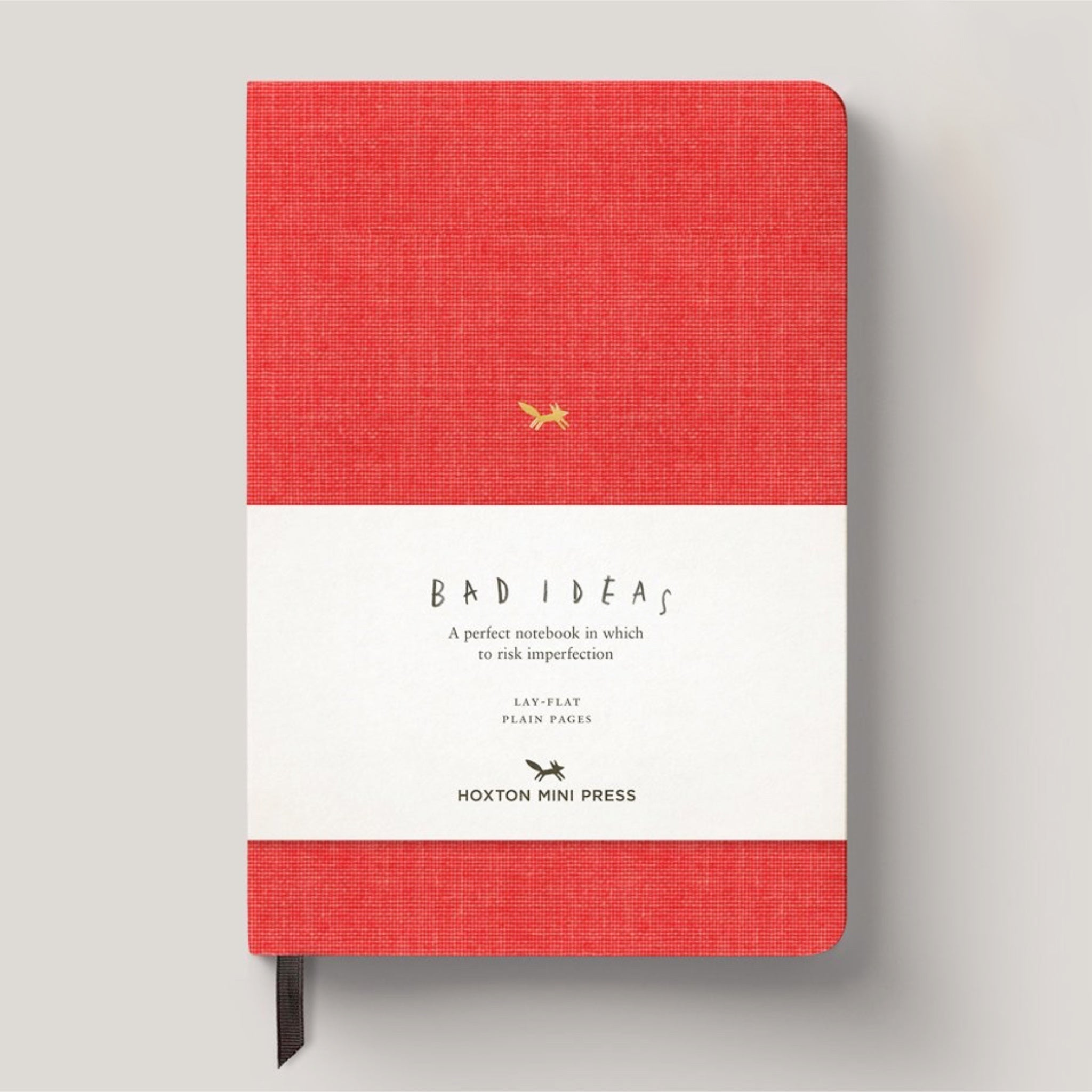 Bad Ideas Notebook - Red