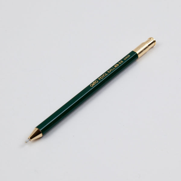 Ohto Pencil Ball Pen - Green