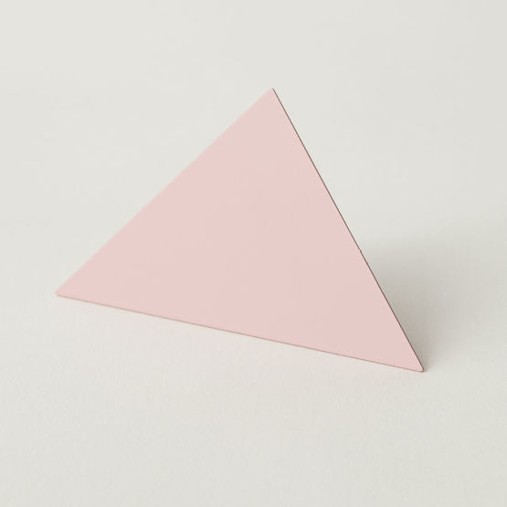 Triangle Photo Clip - Pink