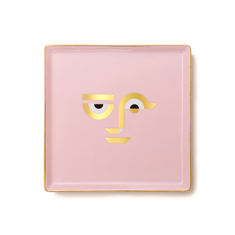 Desk Tidy Tray - Apollo Pink
