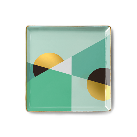 Desk Tidy Tray - Siena Mint