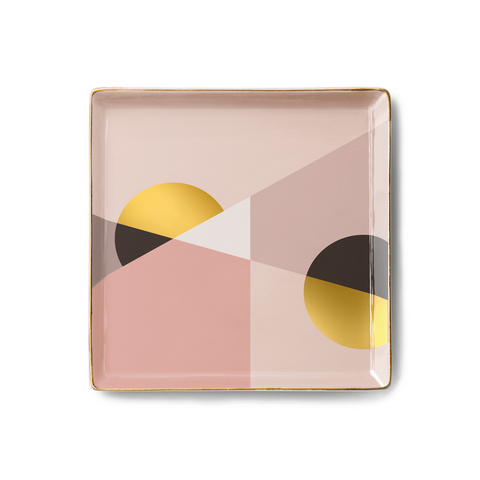 Desk Tidy Tray - Siena Pink