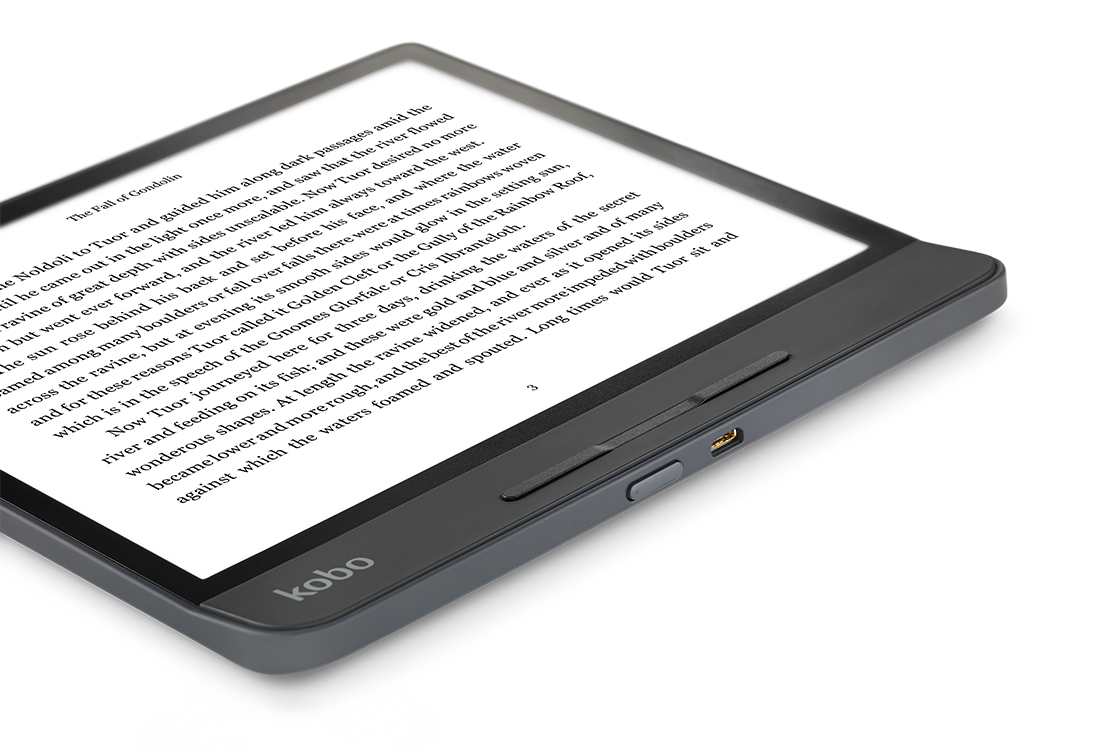 Discover a radical new look for Kobo eReaders