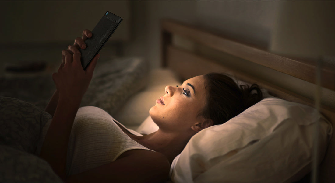Bedtime readers rejoice with ComfortLight PRO