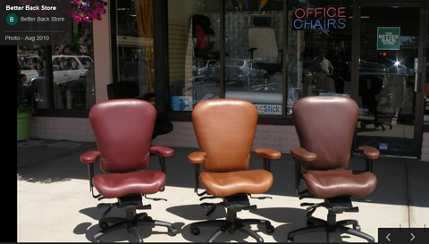 Leather LIFEFORM ERGONOMIC OFFICE CHAIRS ( INTENSIVE SITTING OFFICE CHAIRS) -FOR ANYONE!