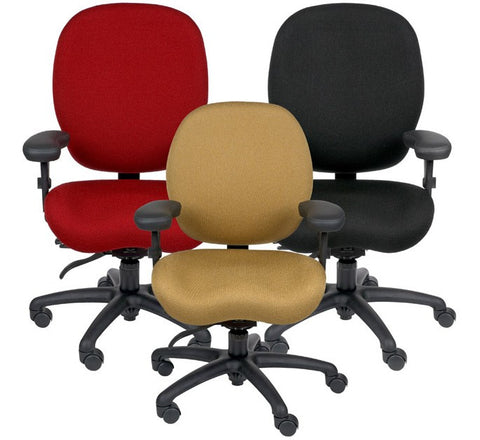 Lifeform Ergonomic Office Chair - Various Fabric Colors ( INTENSIVE SITTING OFFICE CHAIRS )--IF YOU SIT 6 HOURS A DAY, OR MORE, IN AN OFFICE ENVIRONMENT...THIS CHAIR WAS MADE FOR YOU