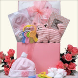 It's a Girl: Baby Gift Basket
