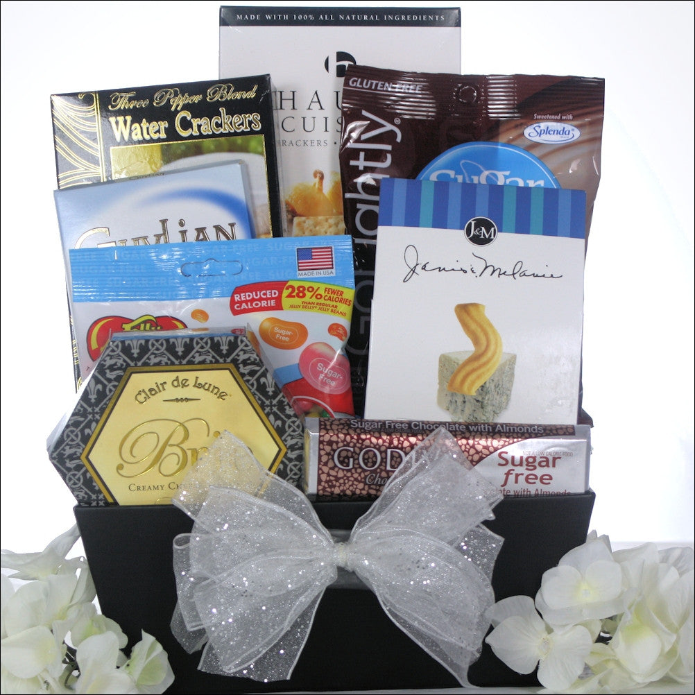 Christmas Joy: Sugar Free Holiday Gift Basket