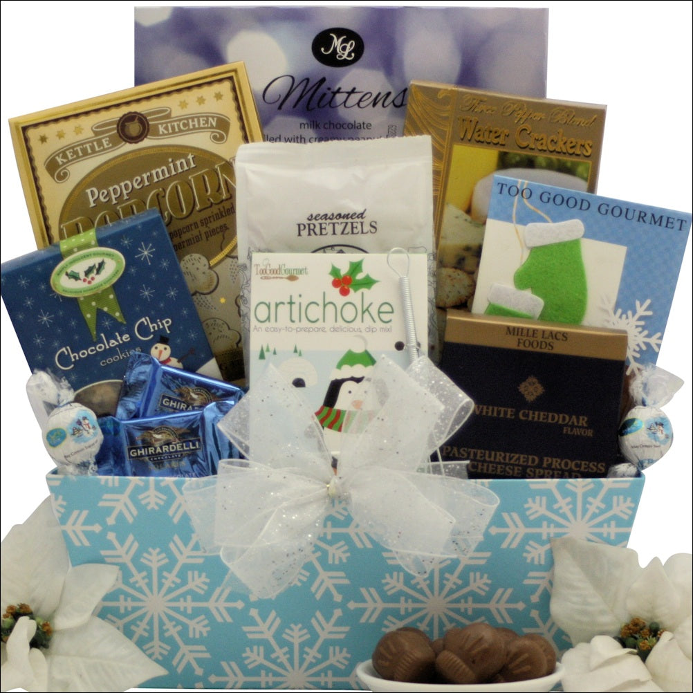 Winter Wonderland: Gourmet Holiday Christmas Gift Basket