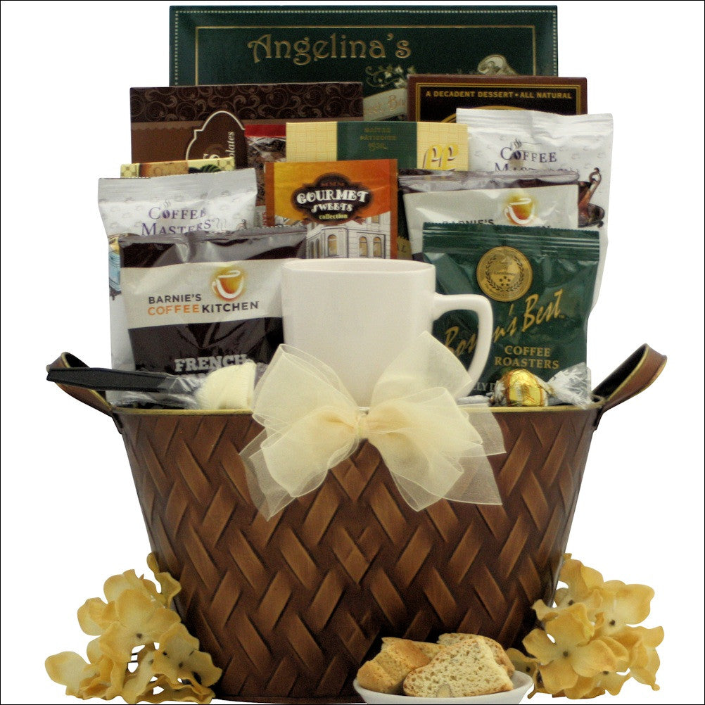 Coffee Connoisseur: Gourmet Coffee Gift Basket
