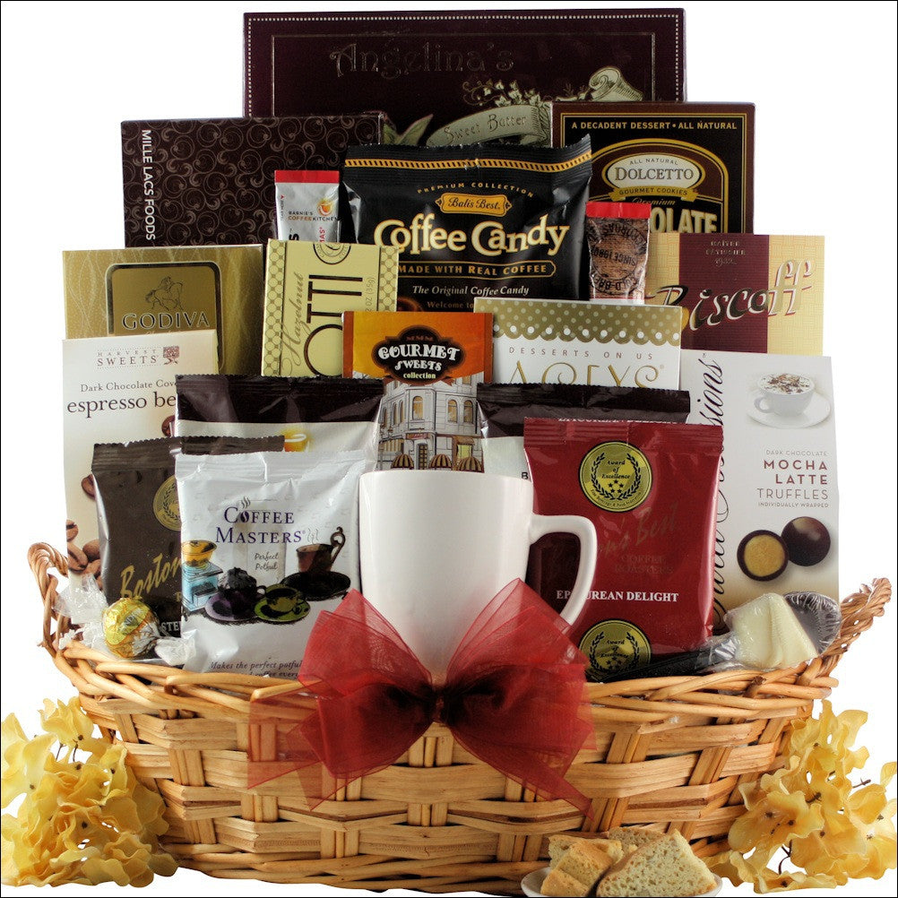 For the Love of Coffee: Gourmet Coffee Gift Basket