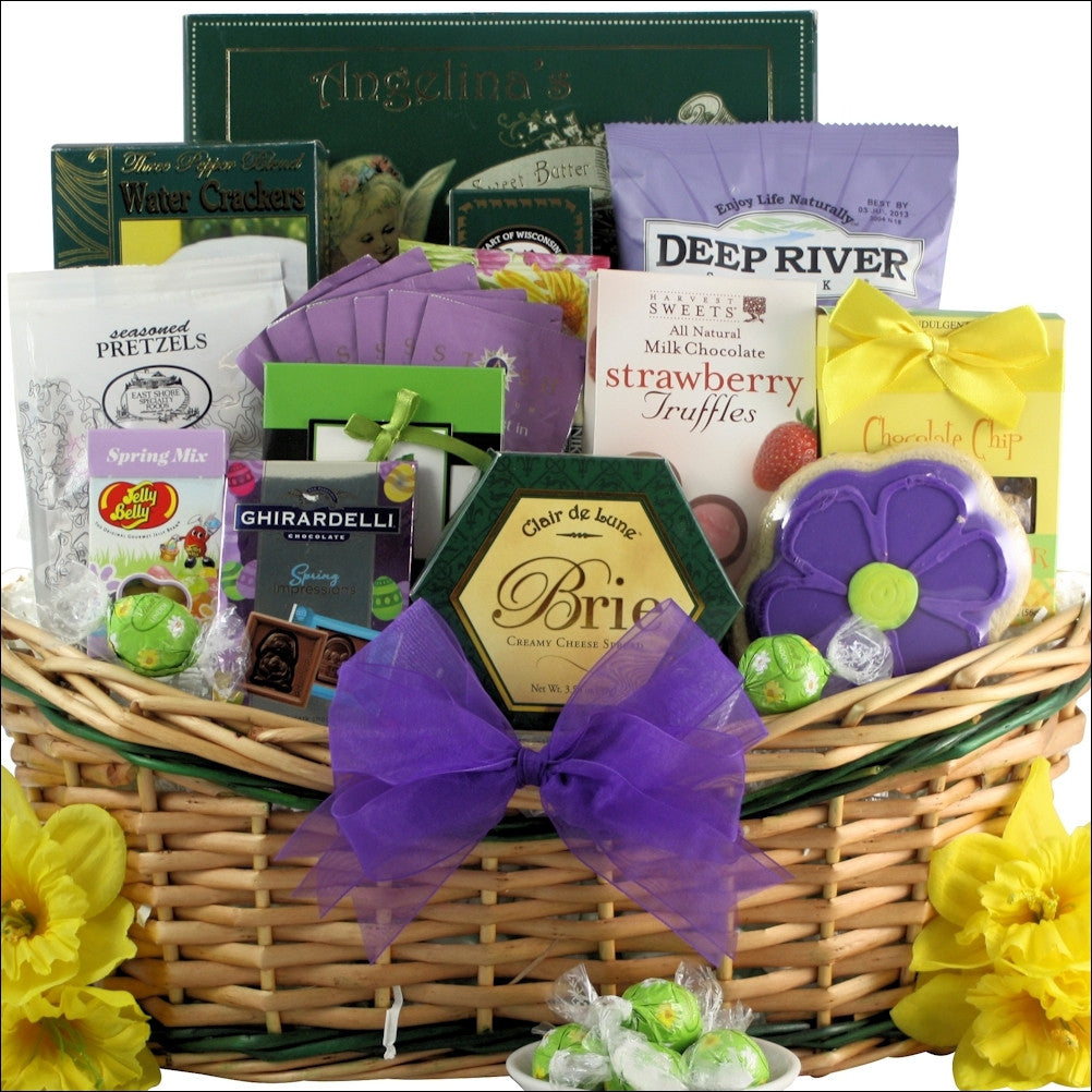 Grand Easter Wishes: Gourmet Easter Gift Basket