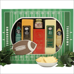Stadium Treats!: Football Themed Cheese & Snacks Gift Set