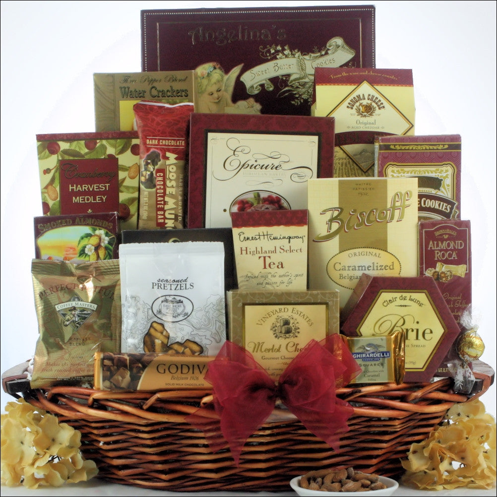 The Finer Things: Gourmet Gift Basket