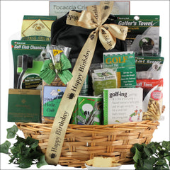 Deluxe Golfer: Birthday Golf Gift Basket