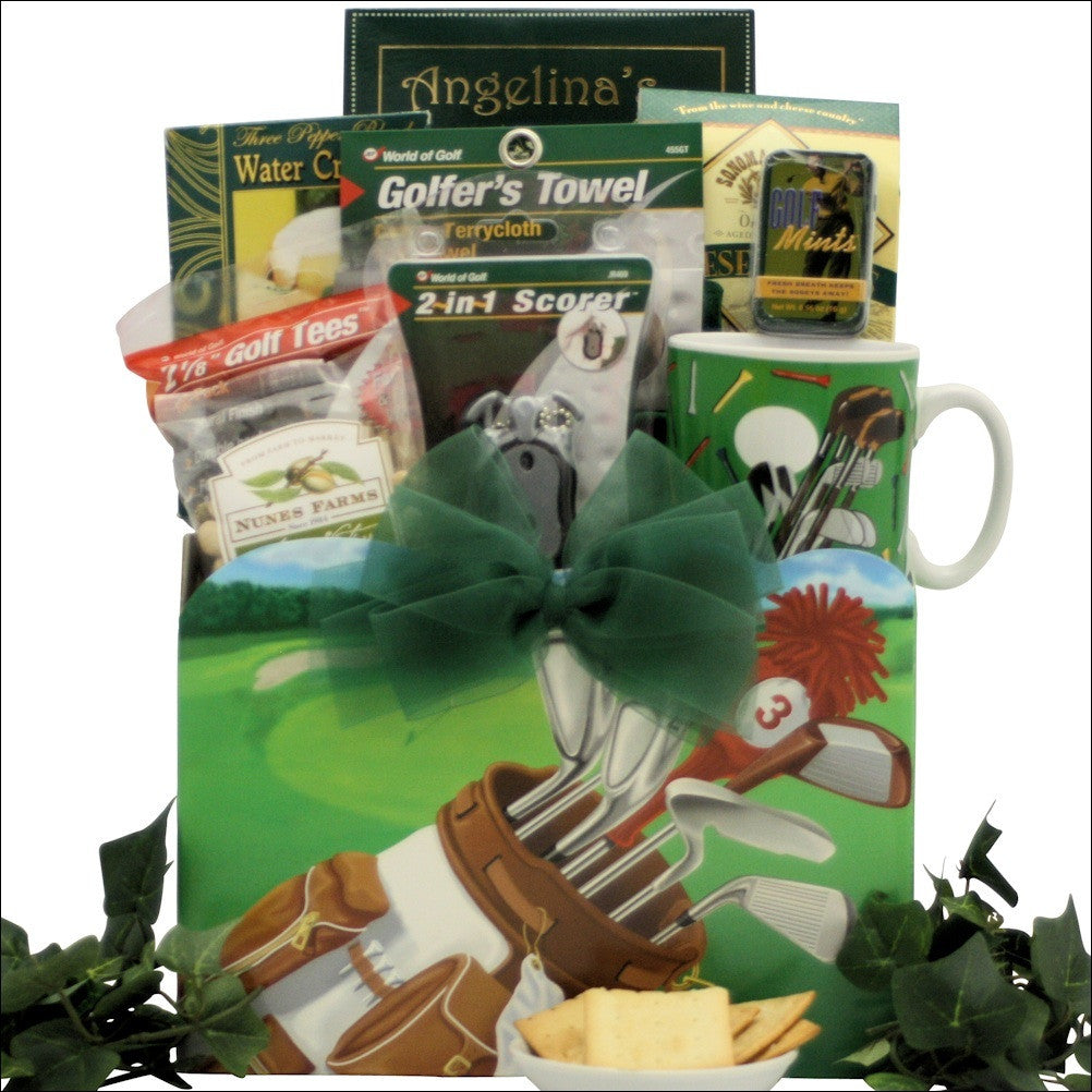 Golfing Around: Gourmet Golf Gift Basket