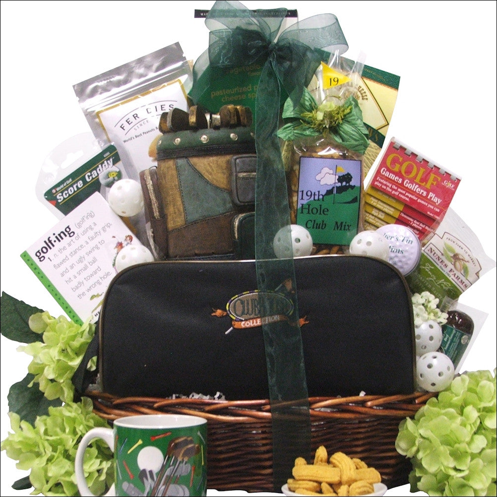 Hole In One: Valentine's Day Golf Gift Basket