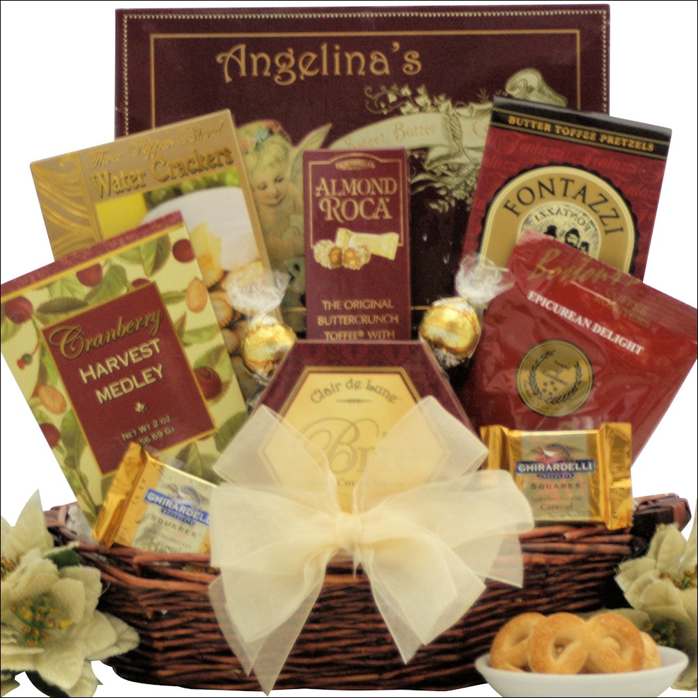 Holiday Traditions: Gourmet Holiday Christmas Gift Basket