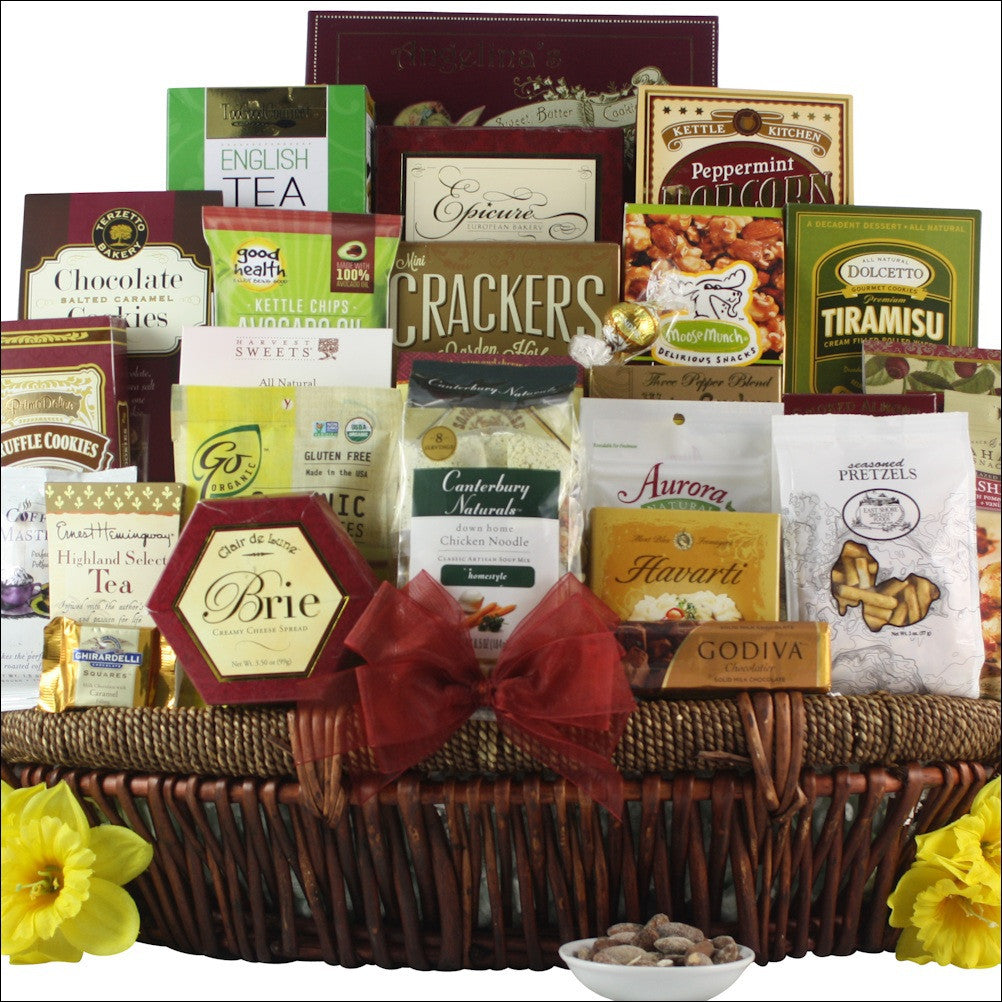 The Grand Get Well Wishes: Get Well Gift Basket