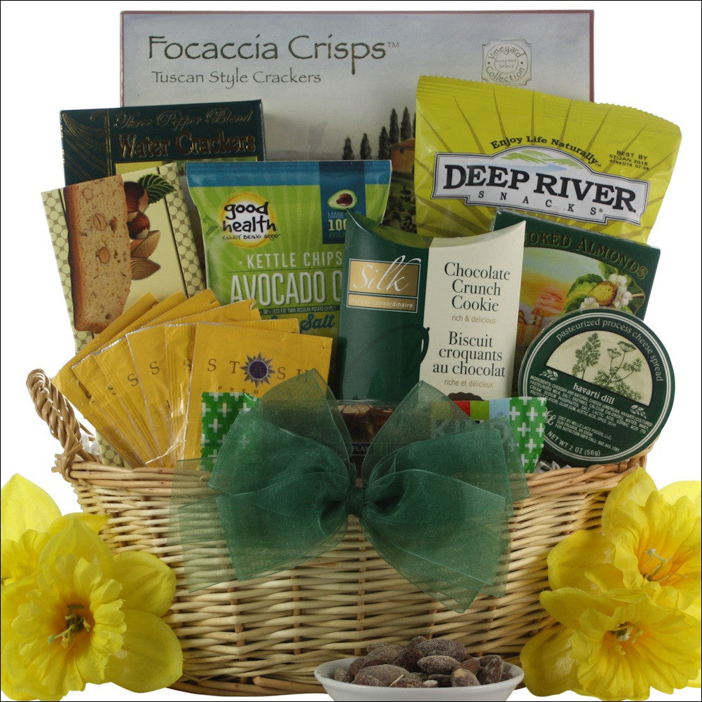 To Brighten Your Day!: Get Well Gift Basket