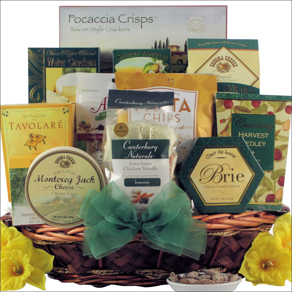 Wishing You a Speedy Recovery!: Get Well Gift Basket