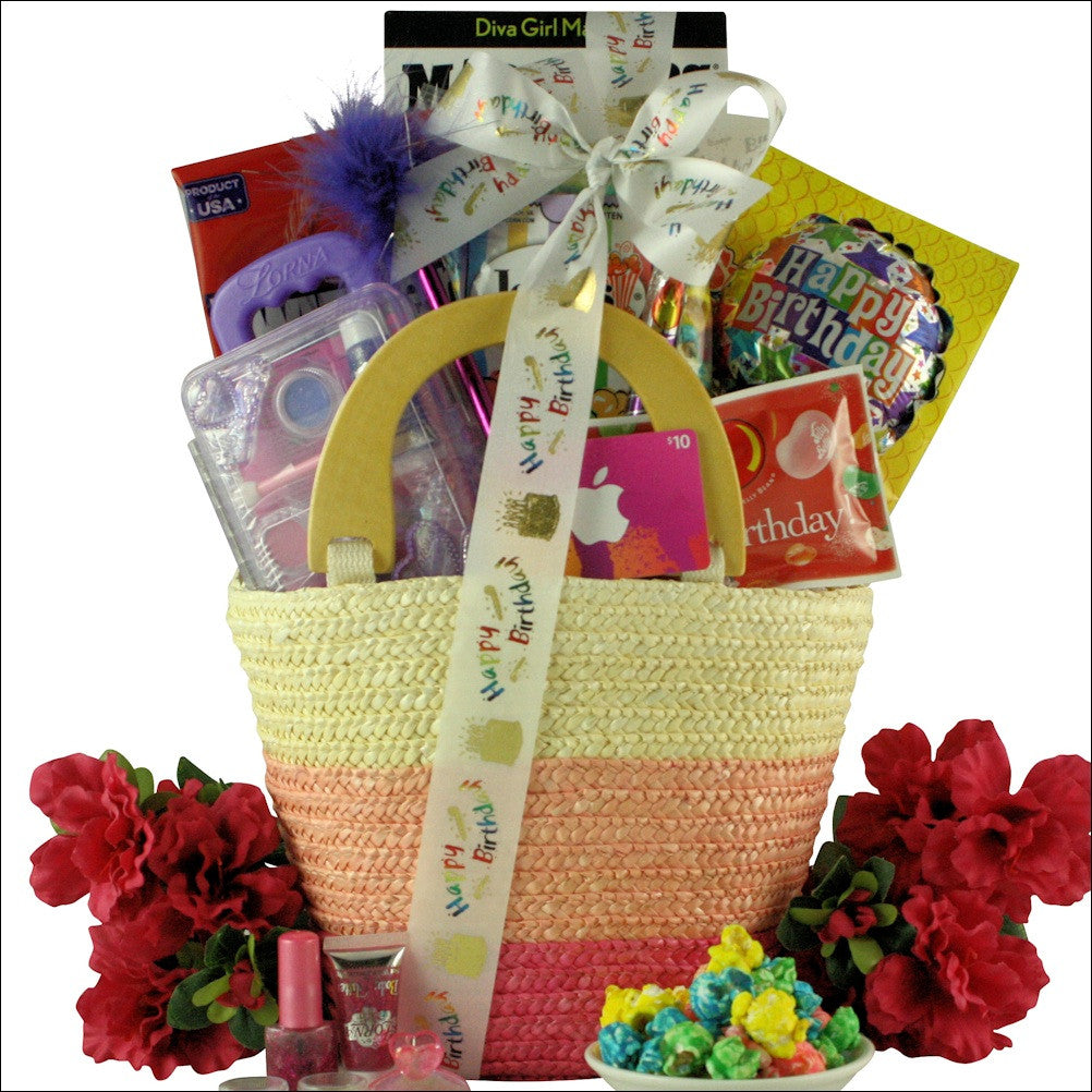 Fabulous Me: Kid's Birthday Basket for Girls - Ages 9 to 12