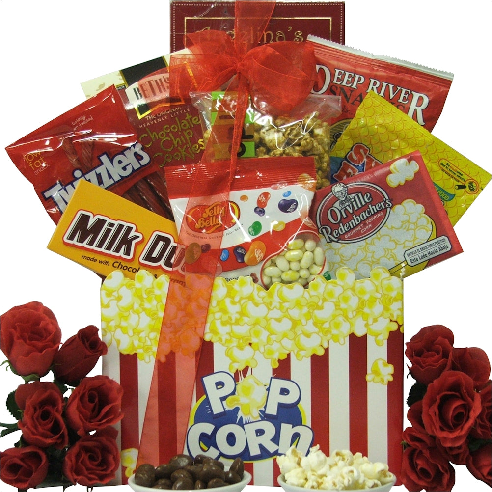 Date Night: Valentine's Day Movie Gift Basket