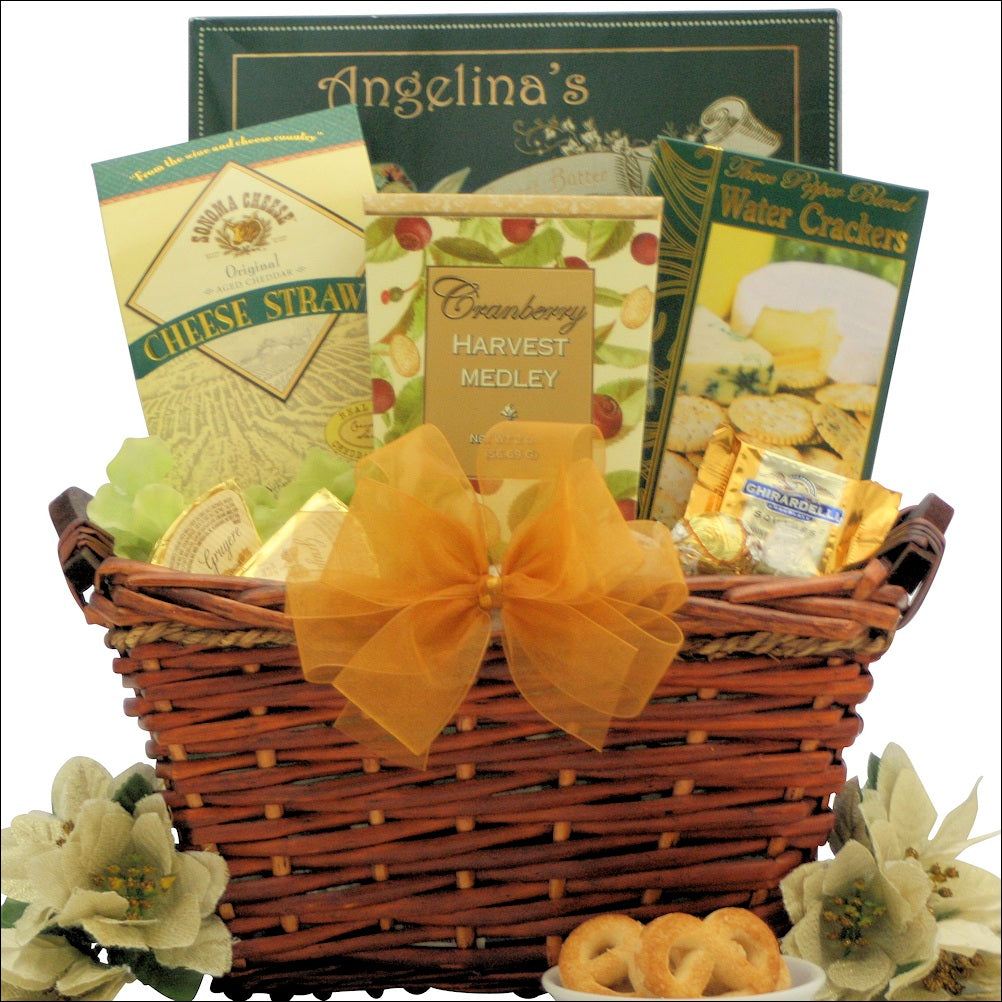 Holiday Delights: Gourmet Holiday Christmas Gift Basket