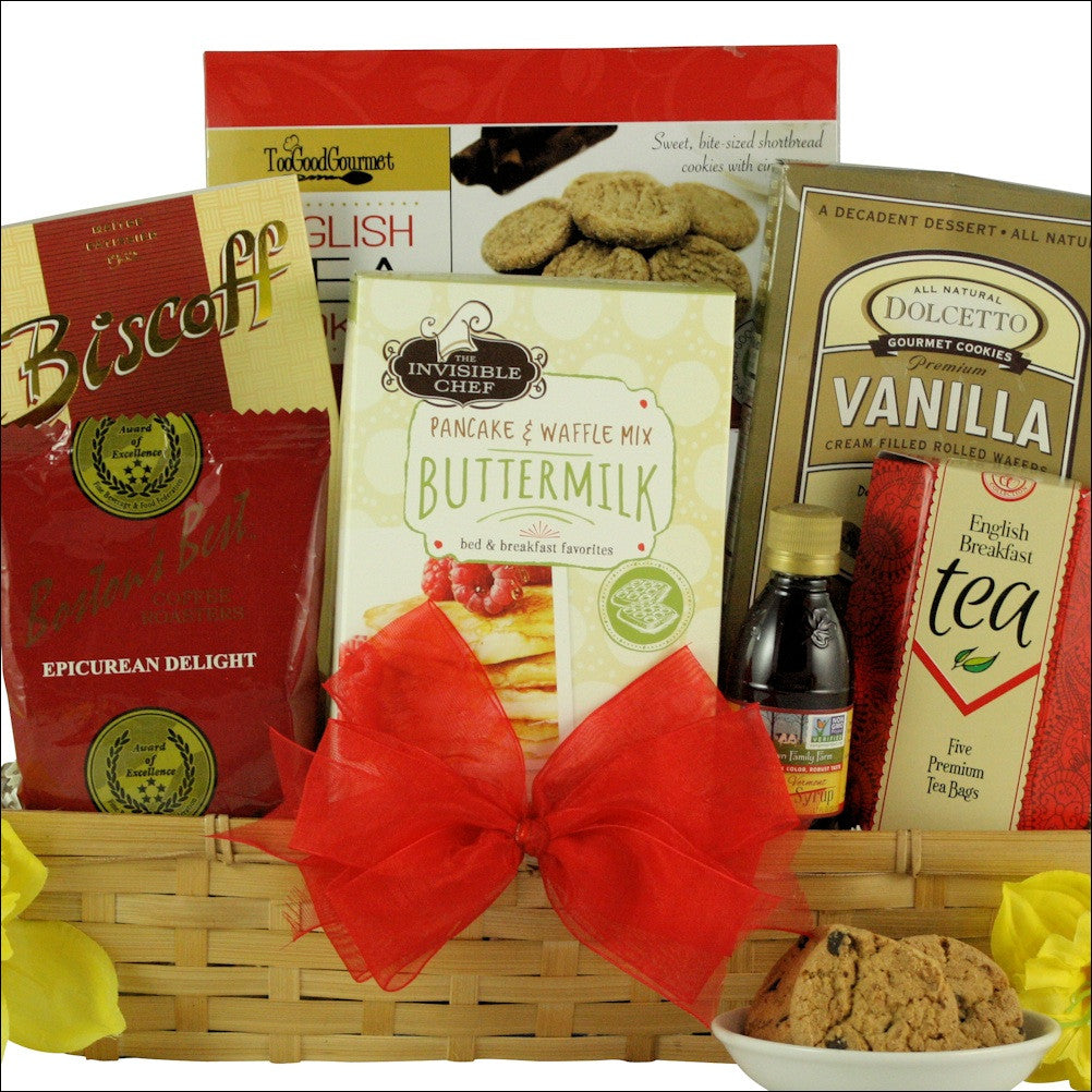 Rise & Shine Gourmet Breakfast: Gourmet Breakfast Gift Basket