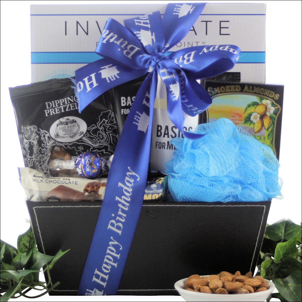 Especially For Men: Birthday Spa Basket