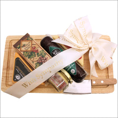 Our Condolences: Sympathy Cheese & Cracker Gift Pack