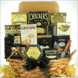 Classic Selections: Cheese & Snack Gift Basket