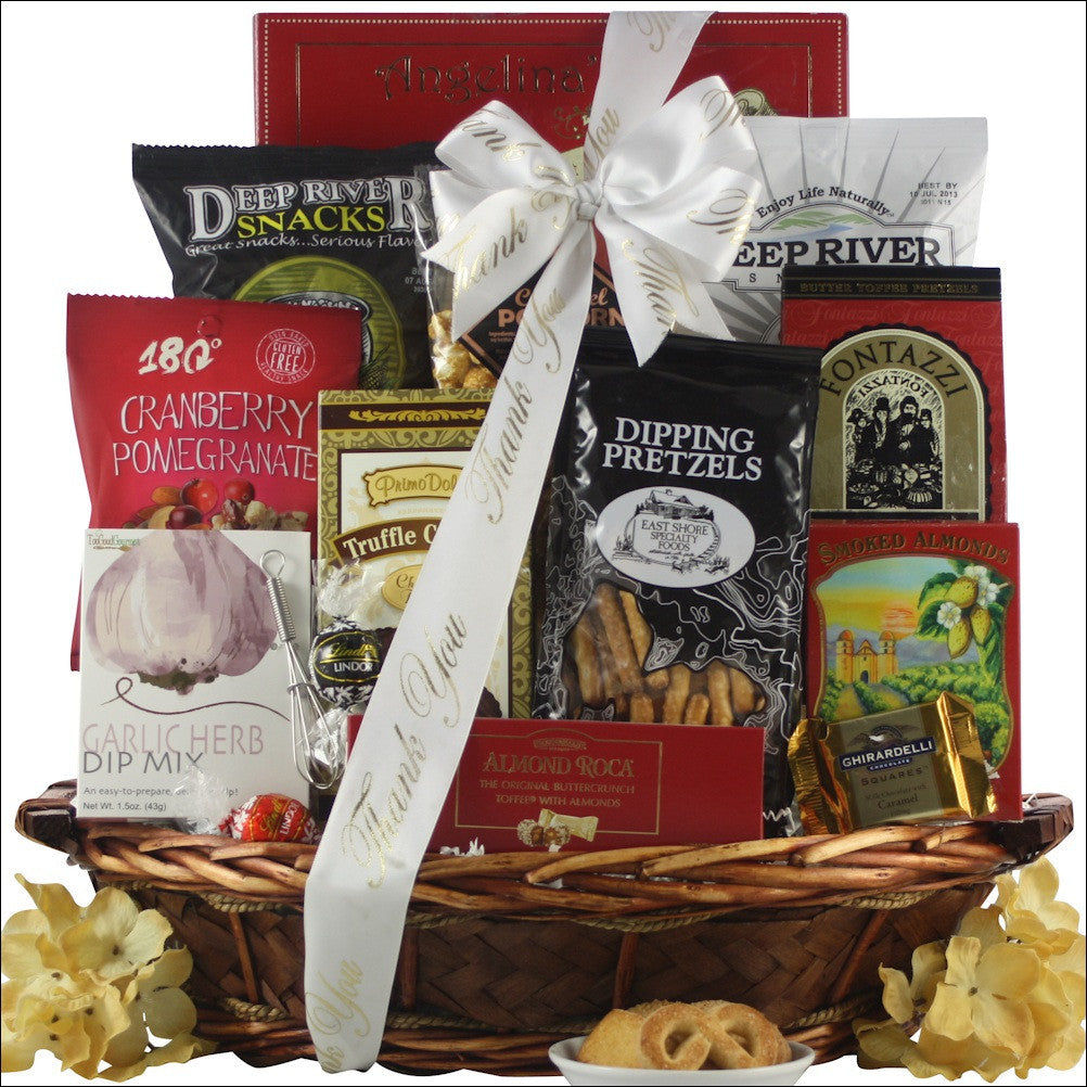Snack Attack: Medium Thank You Snack Basket