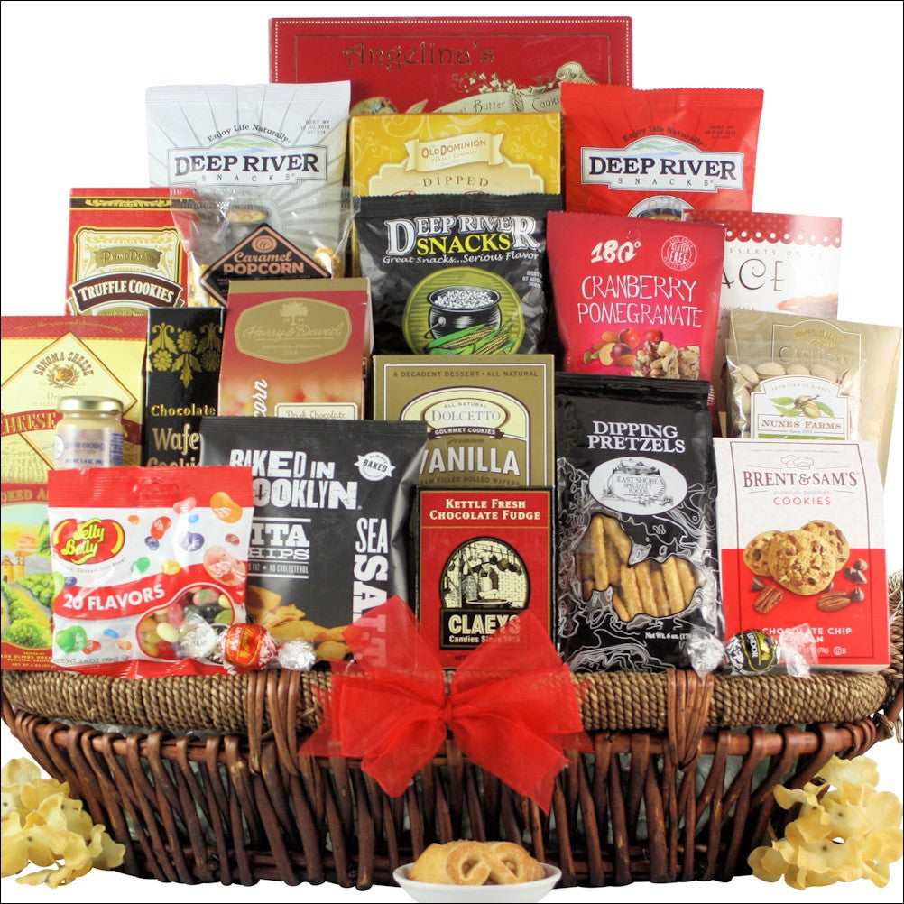 Snack Attack: Extra Large Gourmet Snack Basket