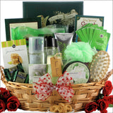 Gardenia Bouquet Spa Haven: Bath & Body Valentine's Day Gift Basket