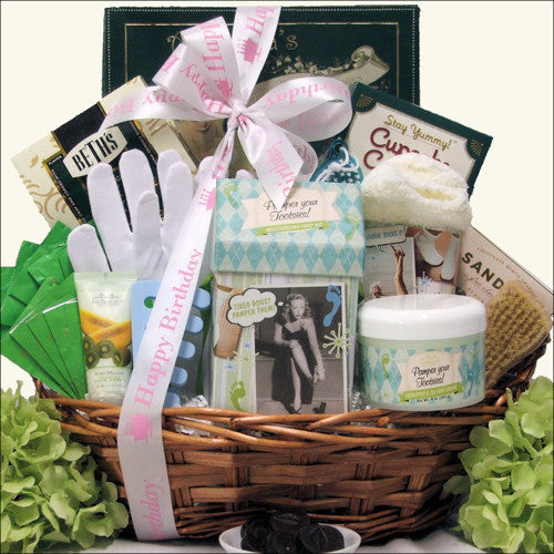 Hands & Feet Specialty Spa: Birthday Bath & Body Spa Gift Basket
