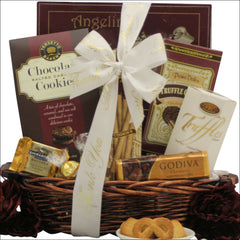 Chocolate Delights: Thank You Chocolate Gift Basket